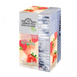 Ahmad Tea London - Contemporary – Czarna Herbata Strawberry Cream (Truskawkowy Krem)