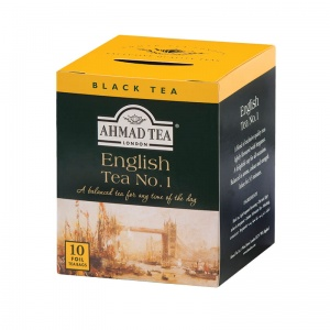 Ahmad Tea London - English Tea No.1 - 10 torebek (w kopertach aluminiowych)